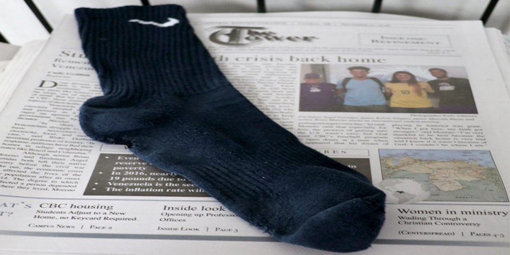 Chronicles of the Lost Sock in KB 107: chapter 6, return of the sock