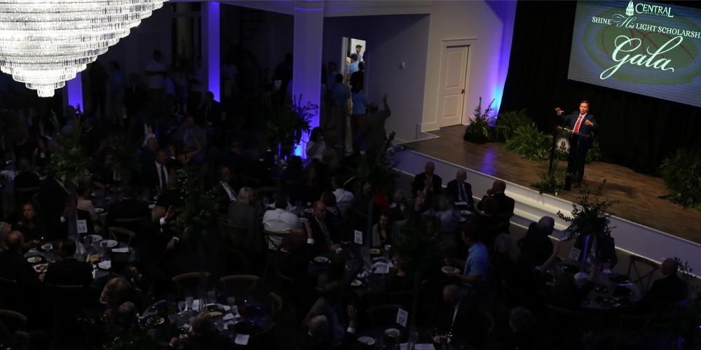 Celebrating Christian-centered higher education at Shine His Light Gala